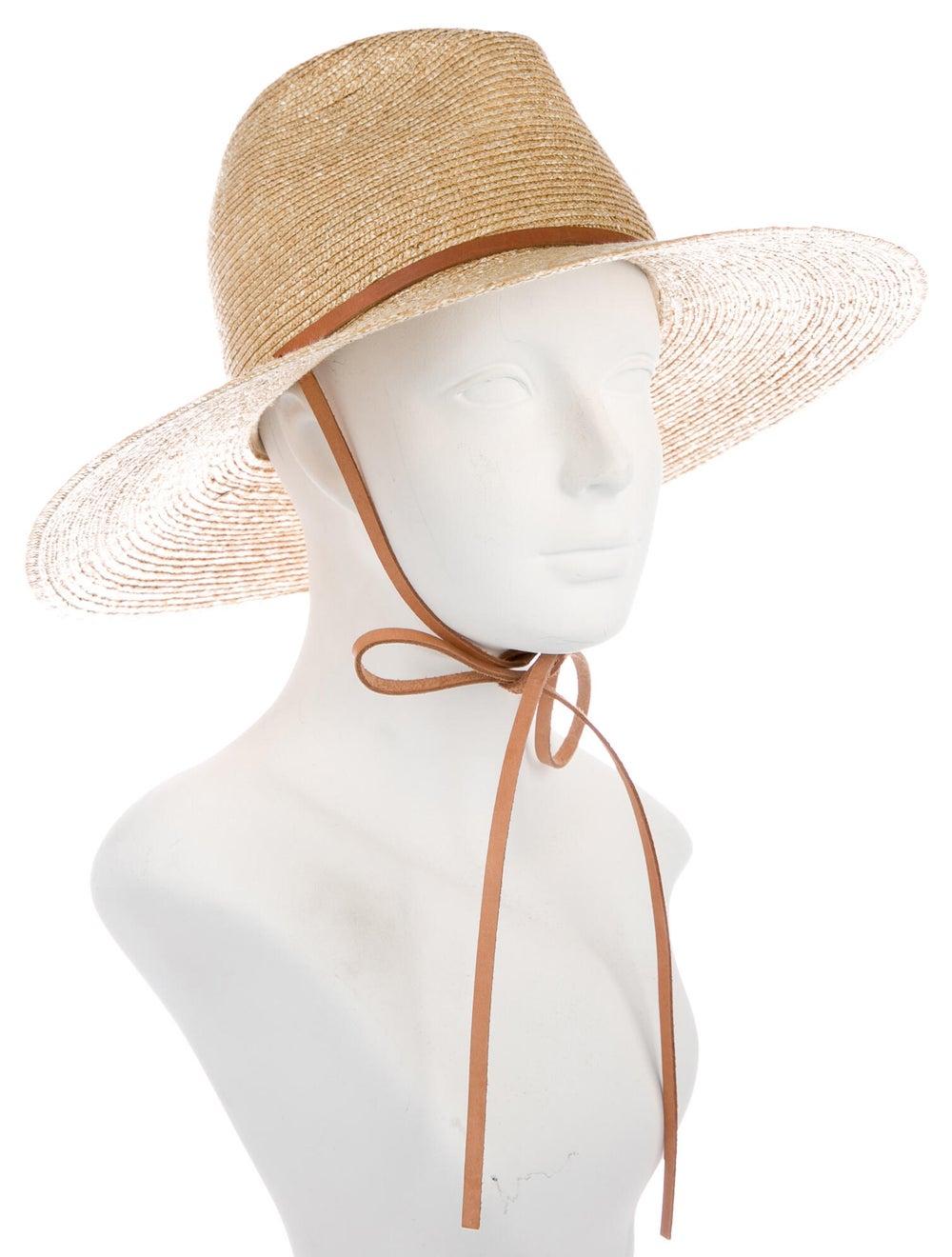 Lola Hats Raffia Wide Brim Hat Tan - image 3
