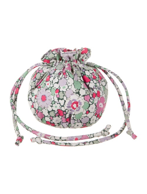 Liberty of London Floral Print Clutch Pink