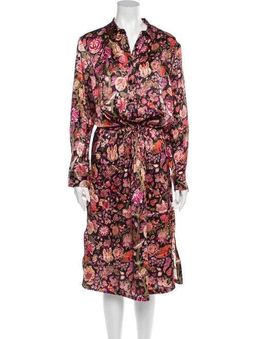 Liberty of London Silk Midi Length Dress