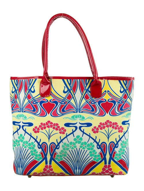 Liberty of London Printed Canvas Tote Yellow