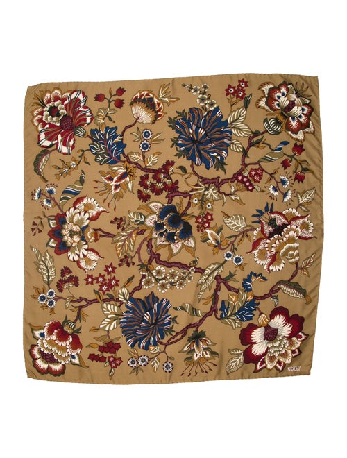 Liberty of London Silk Floral Print Scarf