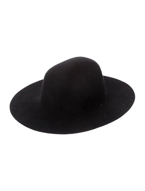 Lack of Color Wool Wide Brim Fedora Hat Black