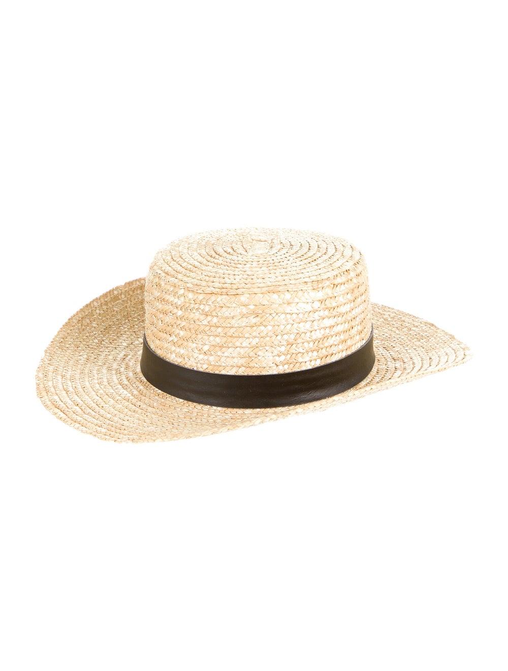 Lack of Color Wide Brim Straw Hat - image 1