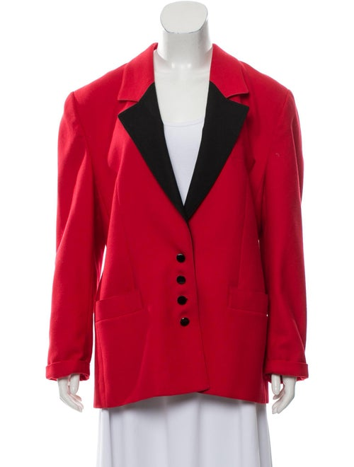 Louis Feraud Blazer Red
