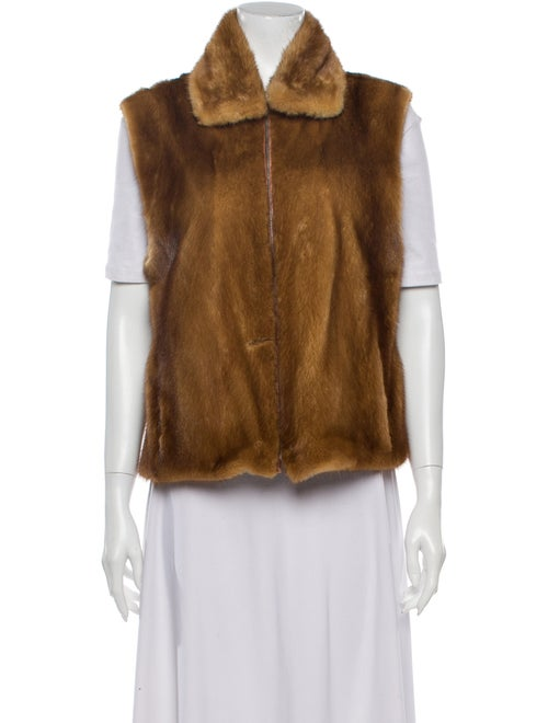 Louis Feraud Vest Brown