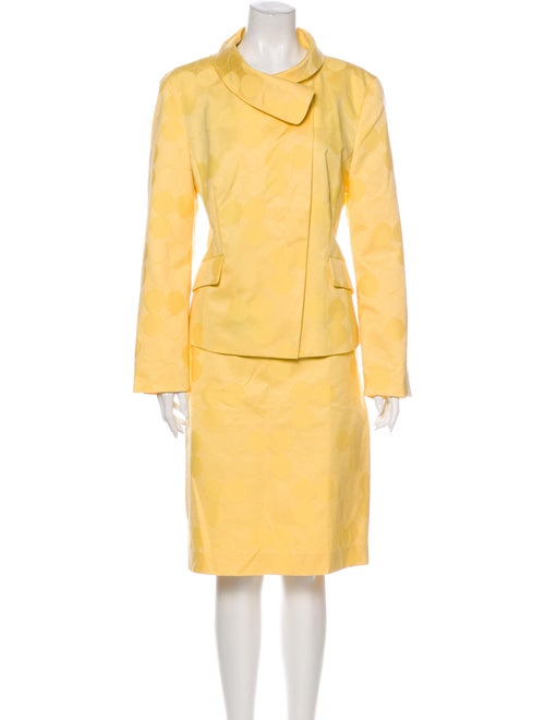 Louis Feraud Skirt Suit w/ Tags Yellow