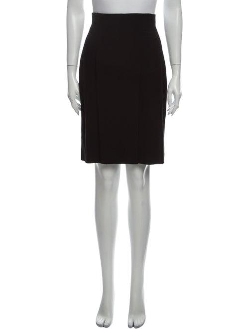 Louis Feraud Knee-Length Skirt Black