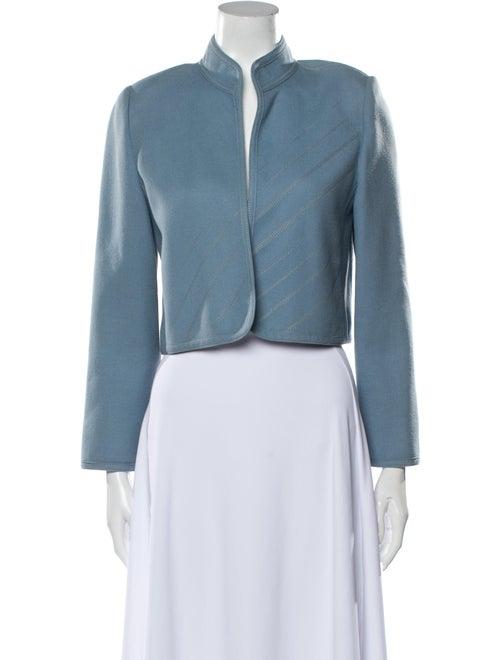 Louis Feraud Virgin Wool Evening Jacket Wool