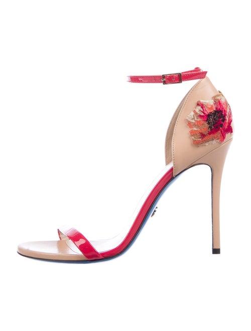 Loriblu Patent Leather Sandals Pink