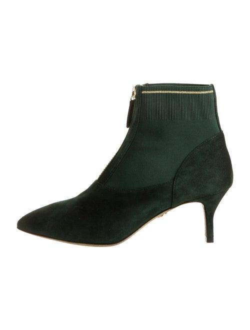 Loriblu Suede Boots Green
