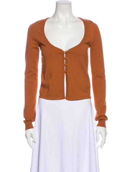 LPA Scoop Neck Sweater Orange
