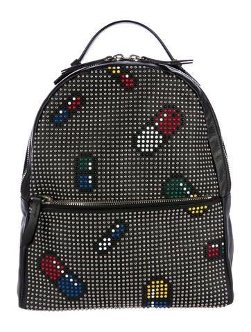 Les Petits Joueurs Mic Pills Backpack None