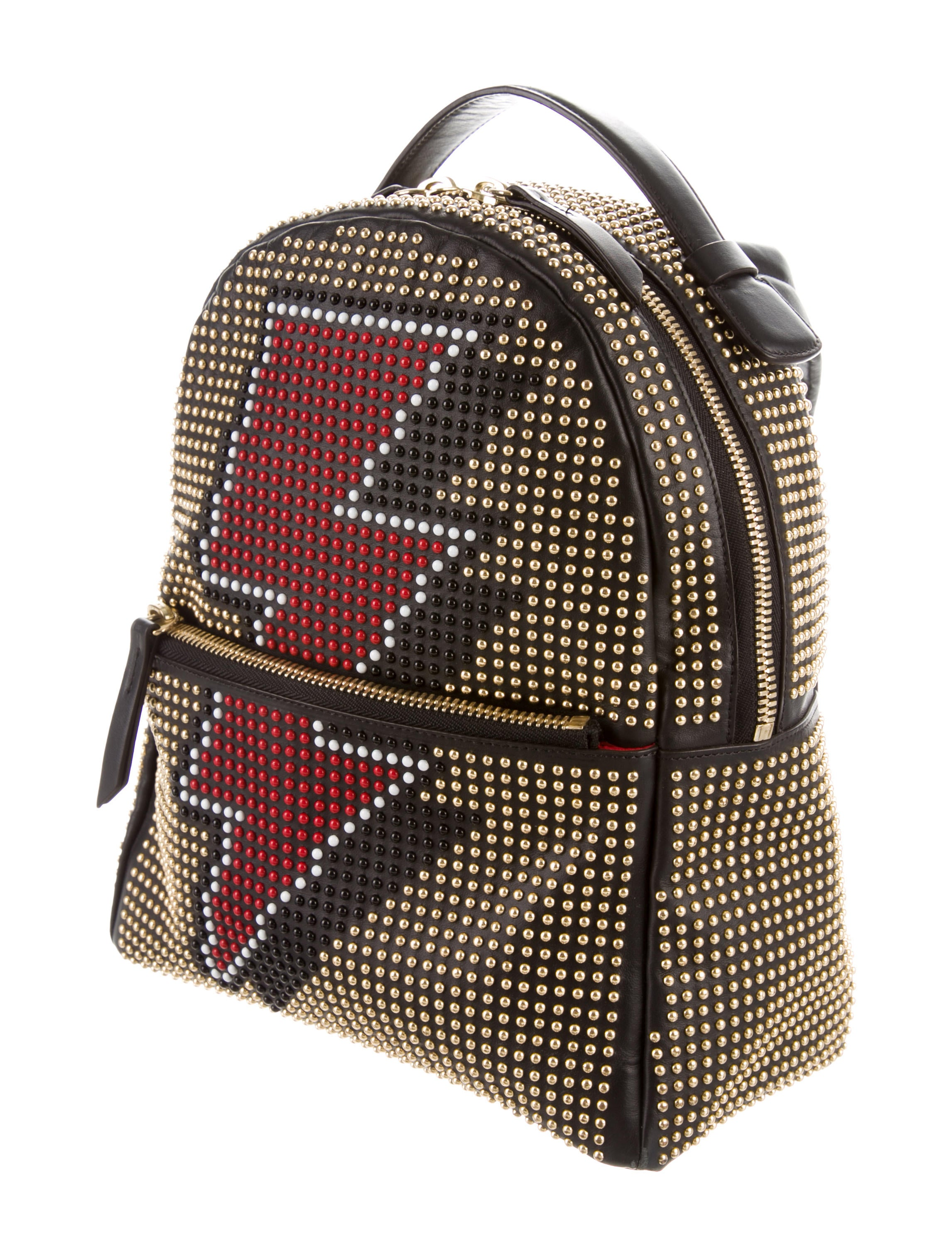 8becd4d6b09 Leather Spiked Backpack- Fenix Toulouse Handball