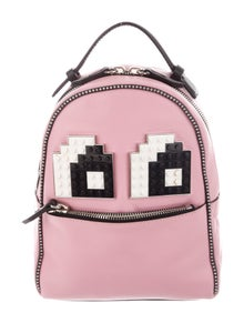 Les Petits Joueurs Leather Lego Backpack