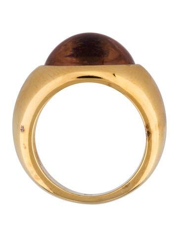Crystal Cabochon Ring