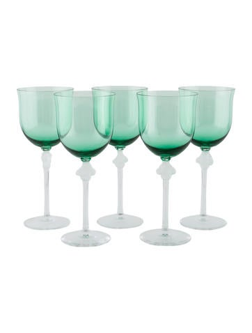 Lalique Roxane Wine Glass Set