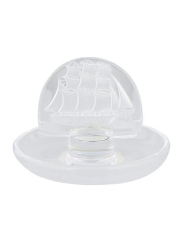 Lalique Crystal Pin Tray None