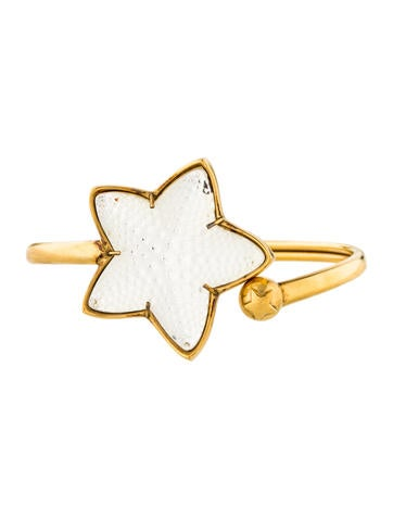 Lalique Oceania Starfish Bangle None