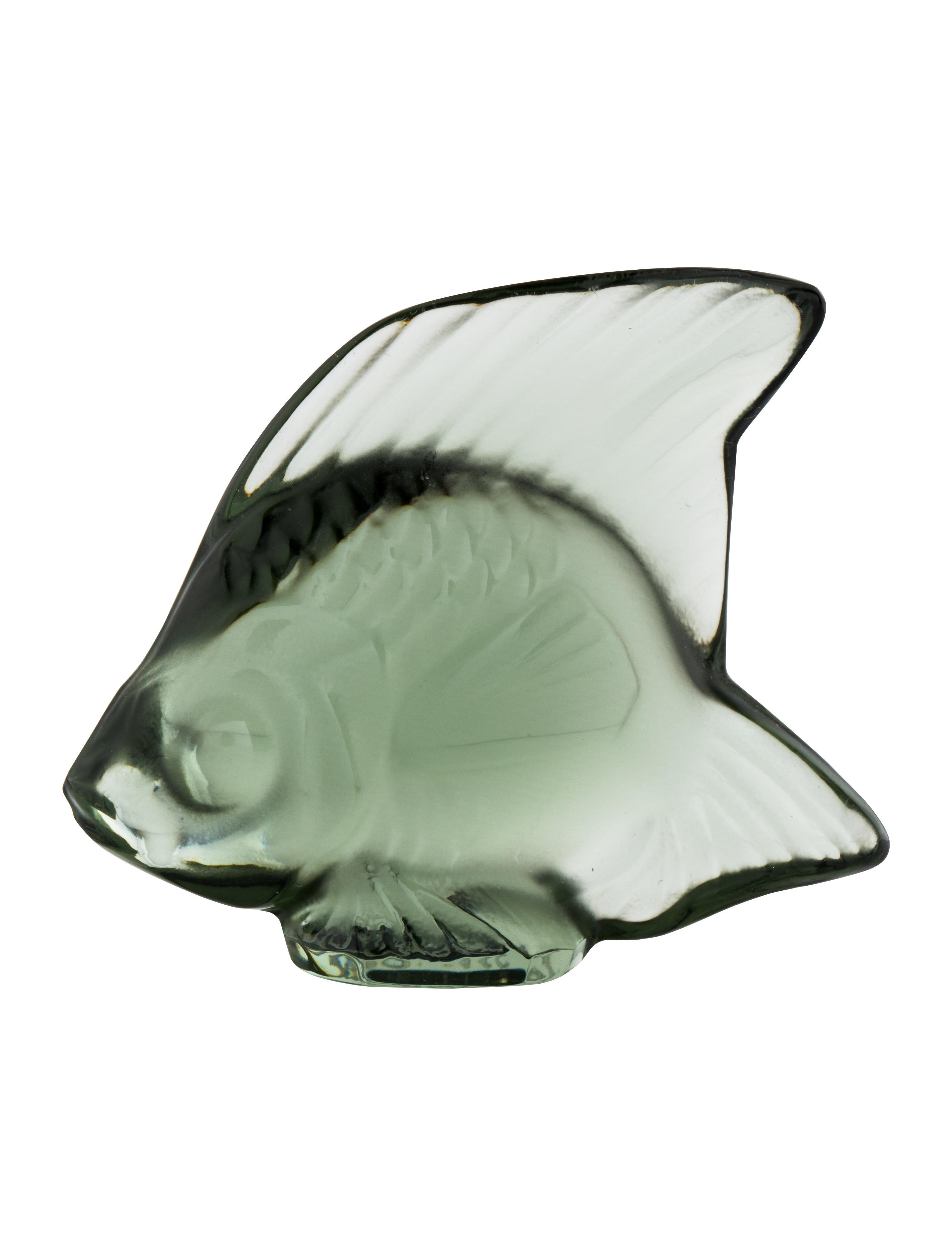Crystal Fish Figurine