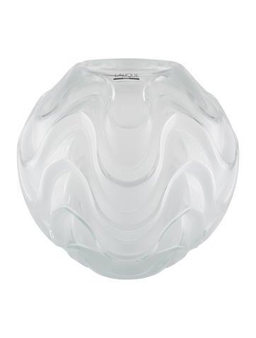 Lalique Crystal Vibration Vase None