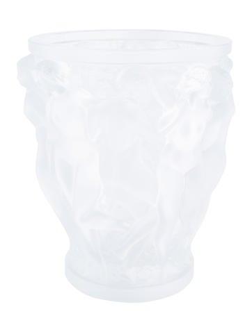 Lalique Bacchantes Vase None