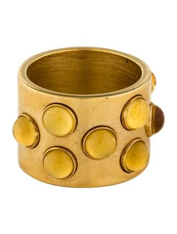 Lalique Mossi Three-Row Ring None