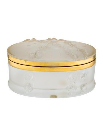 Lalique Coppelia Vanity Box None
