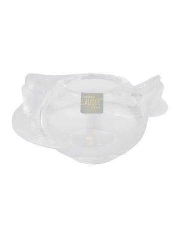 Lalique Crystal Vase None