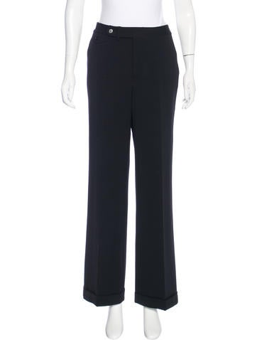 Lauren Ralph Lauren High-Rise Wide-Leg Pants None
