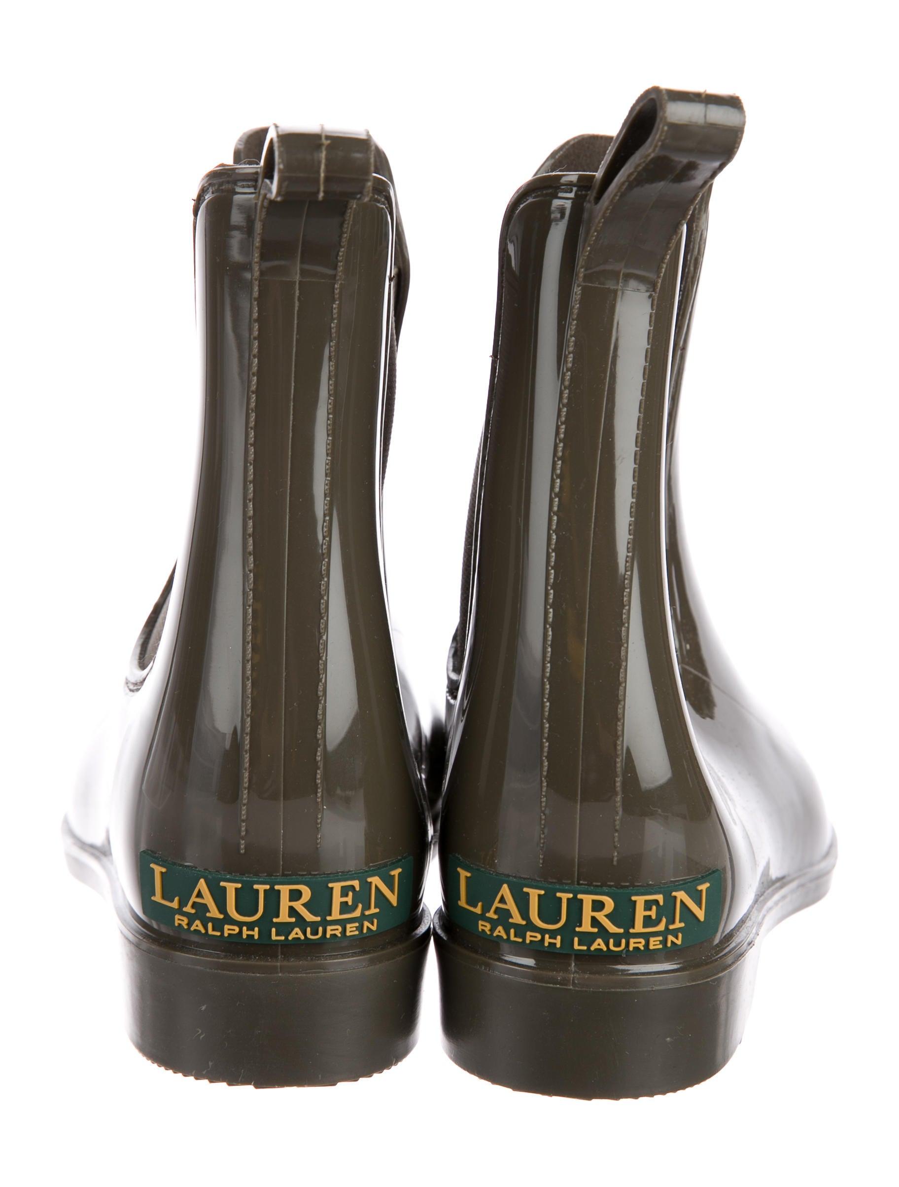 Lauren Ralph Lauren Rubber Ankle Rain Boots Shoes