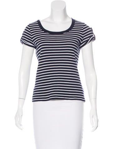 Lauren Ralph Lauren Short Sleeve Striped Top None