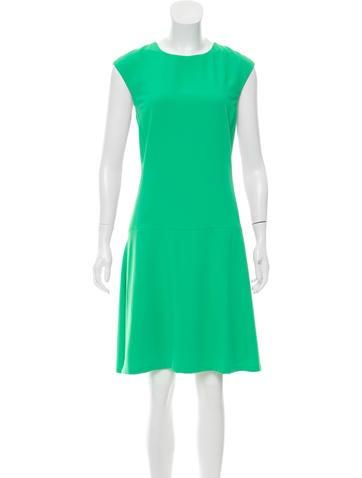Lauren Ralph Lauren Sleeveless Knee-Length Dress None
