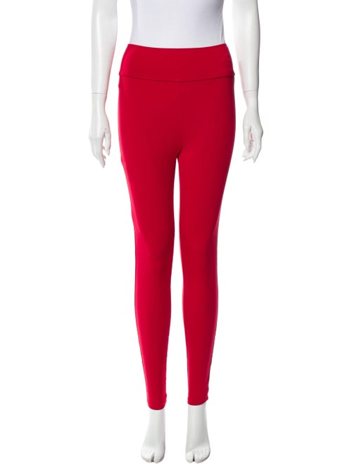 Live The Process Skinny Leg Pants Red