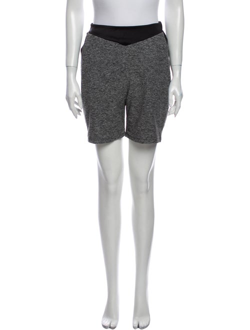 Live The Process Knee-Length Shorts Grey