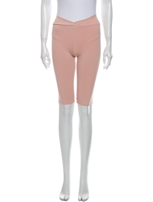 Live The Process Knee-Length Shorts Pink