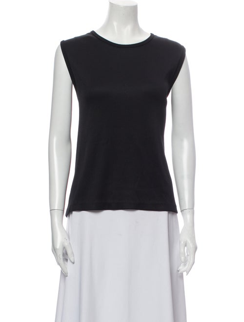 Live The Process Scoop Neck Sleeveless Top Black