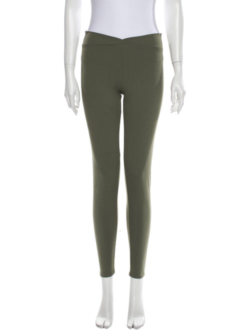 Live The Process Skinny Leg Pants Green