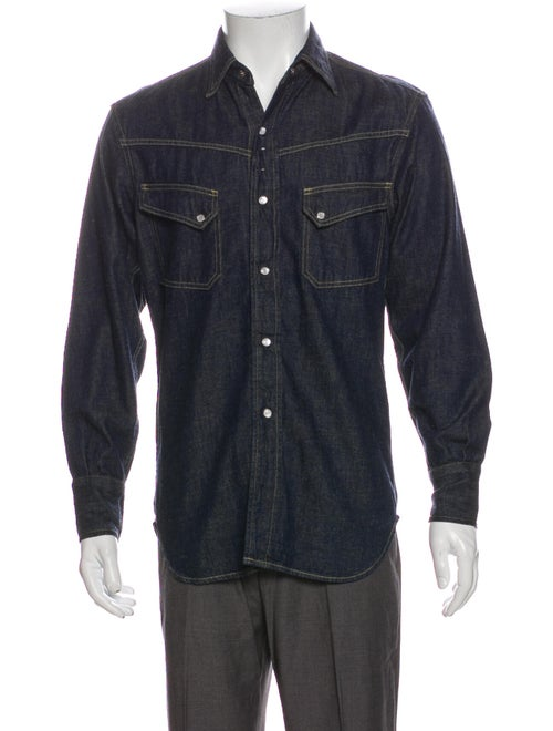 Levi's Vintage Clothing Long Sleeve Denim Shirt De