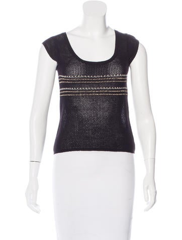 Mayle Cashmere Knit Top None