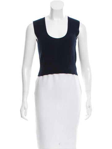 Mayle Wool & Cashmere-Blend Top None