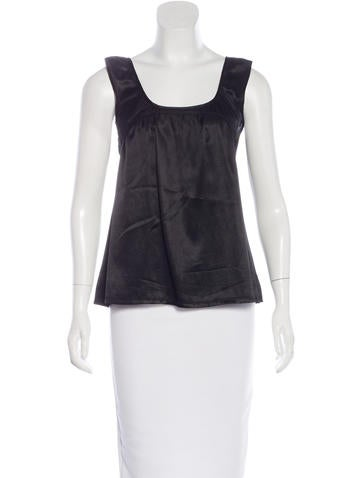 Mayle Sleeveless A-Line Top None