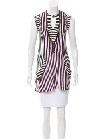 Mayle Striped Tunic None