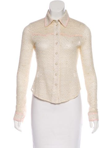 Mayle Knit Long Sleeve Top None
