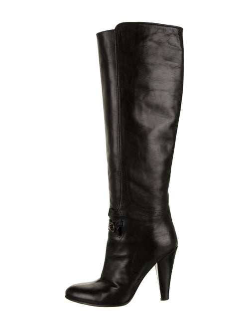 Mayle Leather Boots Black