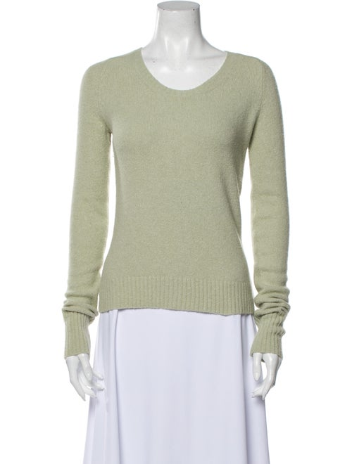 Mayle Scoop Neck Sweater Green