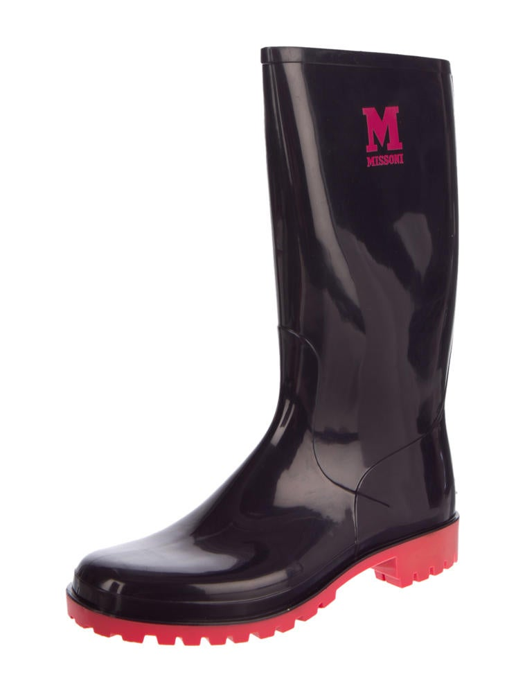 m missoni rubber boots shoes wm422811 the realreal