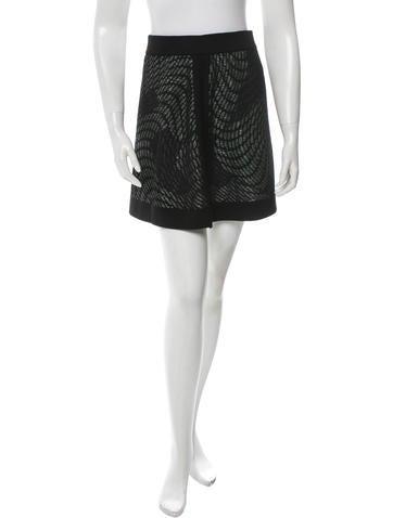 M Missoni Metallic Knit Skirt w/ Tags None