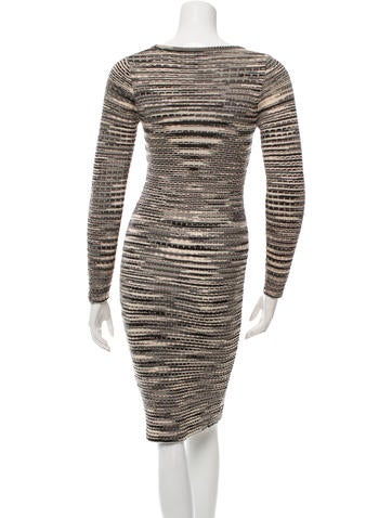 Wool Patterned Dress
