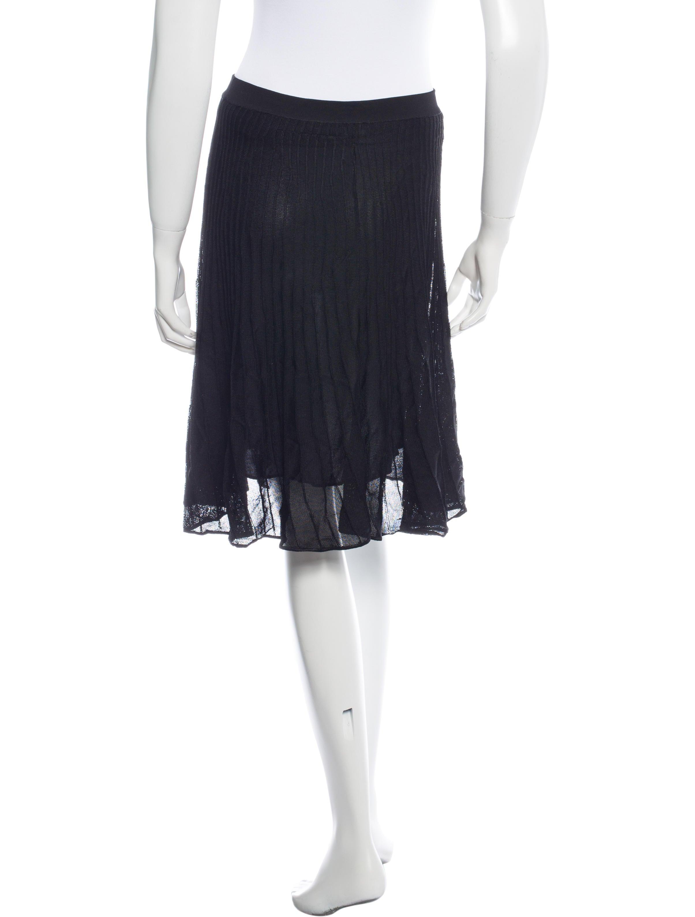 m missoni knit knee length skirt clothing wm431528