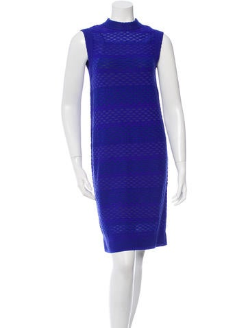 M Missoni Mock Neck Shift Dress w/ Tags None